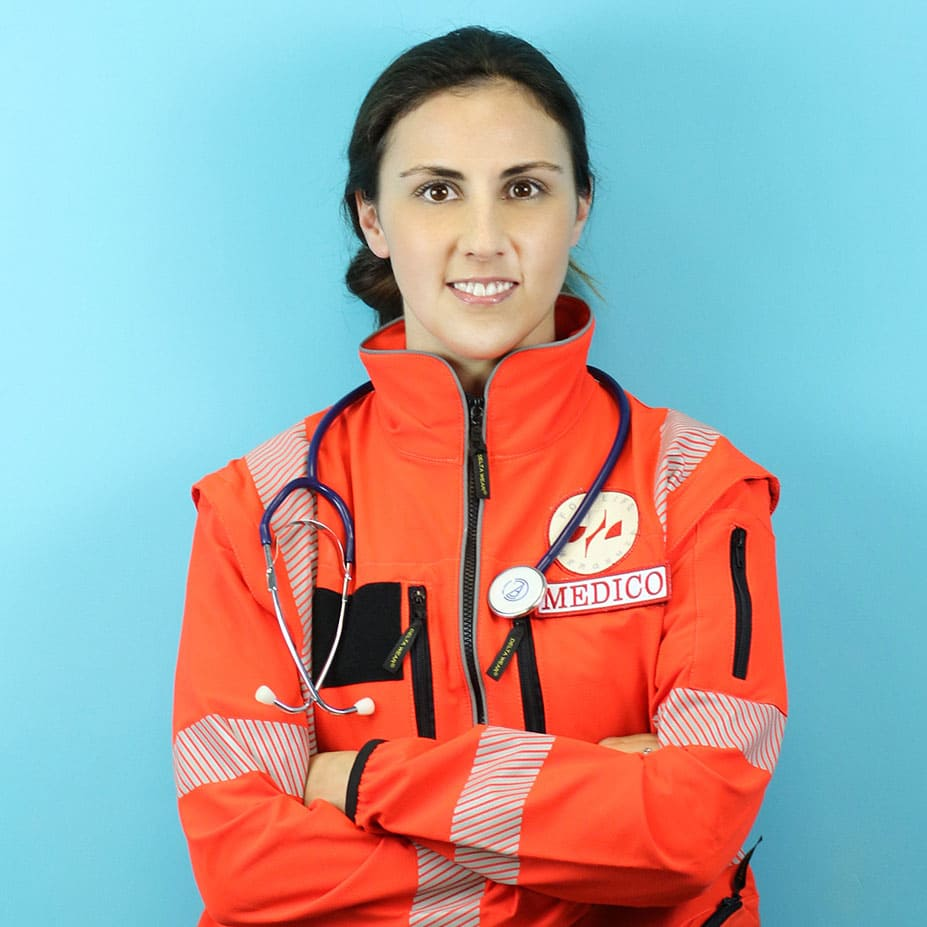 Valeria Arpini medico soccorritore