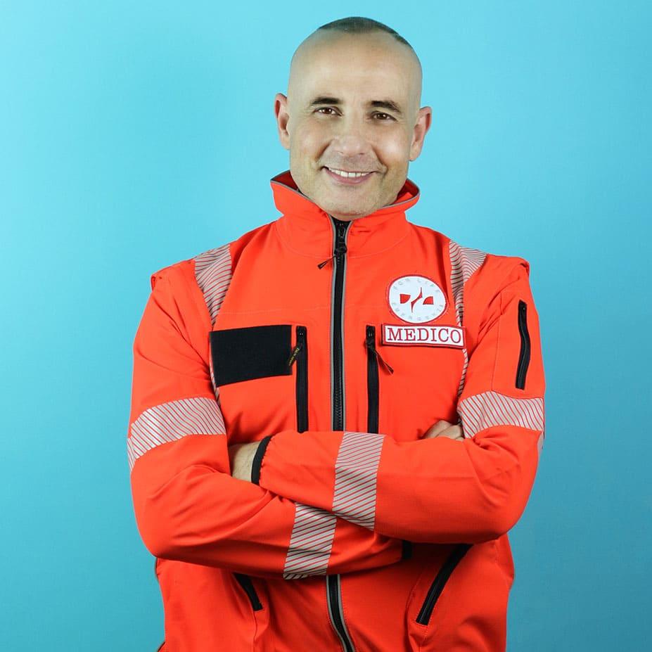 Andrea Scapati medico ambulanza