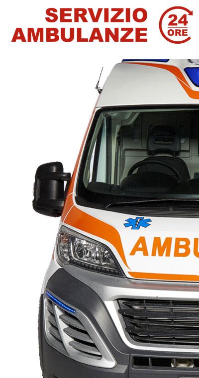 Servizio Ambulanze 24 ore Roma