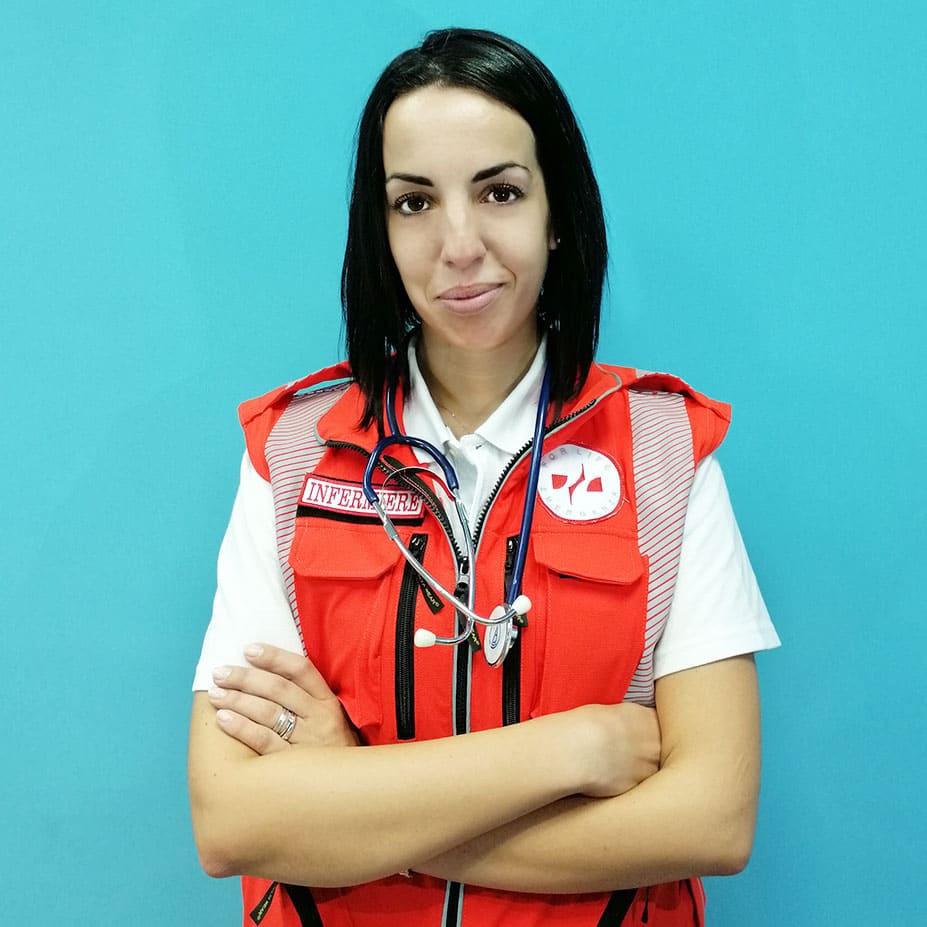 Elisa Polimeno infermiere