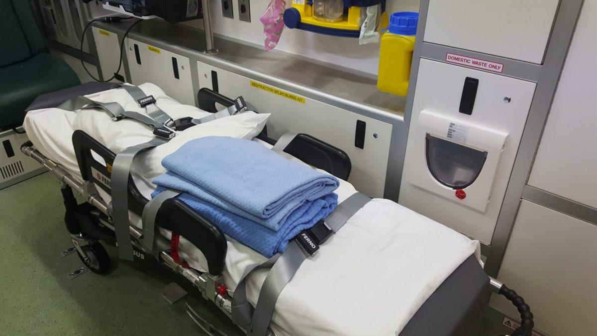 come è fatta barella ambulanza